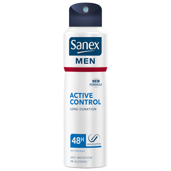 Sanex Men Active Control Anti-Perspirant Spray
